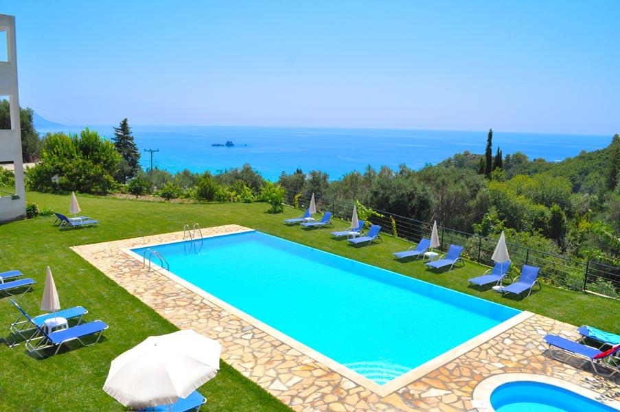 Korfu ferienhaus 23 for Garten pool korfu 1